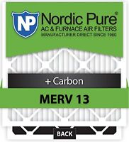 Nordic Track 20x25x5 Nordic Pure MERV 13 Plus Carbon Air Filters Qty 1 Honeywell Replacement Humidifier, Dehumidifier and Air Purifier Accessories on Sale