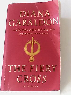 Outlander The Fiery Cross Book 5 by Diana Gabaldon 2005 Paperback Used