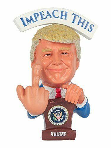 bondissants majeur pour votre libéral /& démocrate... Donald Trump Bobblehead