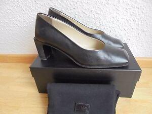 Feine-Leder-Pumps-von-Hugo-Boss-NP-290-TOP-Designer-Schuhe-Gr-38-38-5-39