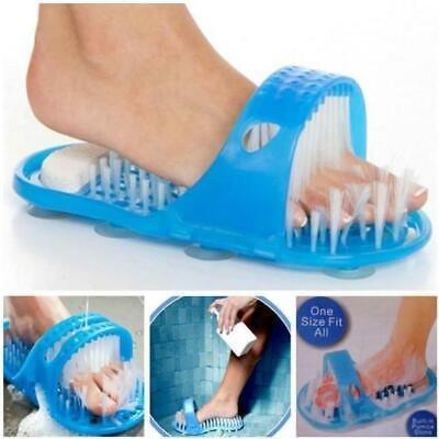 Ciabatte da bagno per la doccia Spa Massage Peeling con spazzola per la pulizia dei piedi