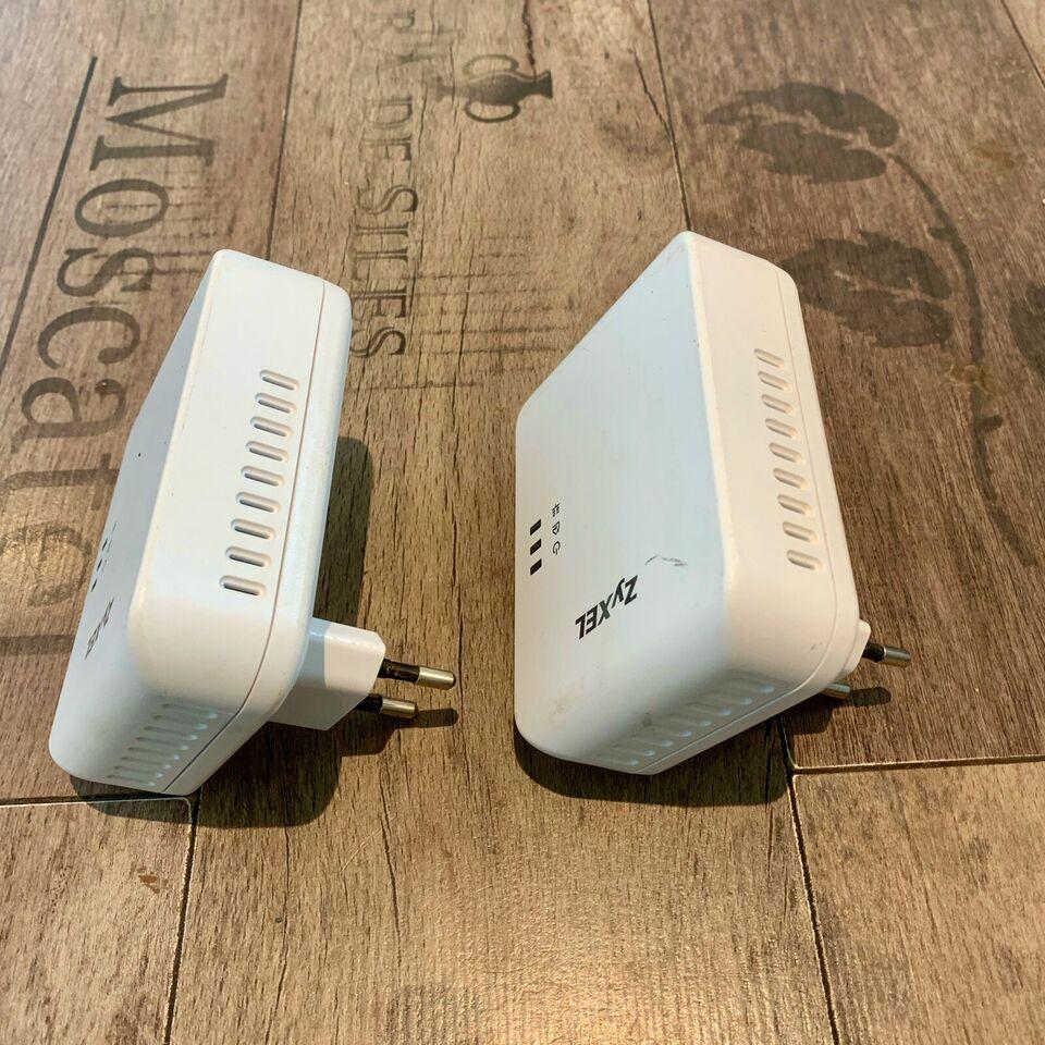 Adapter, Zyxel Powerline PLA4205 adapter, Perfekt