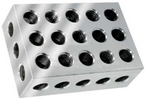 Parallelblock 25 x 50 x 75 mm 1-2-3 Gewinde M10 metrische Parallelblöcke