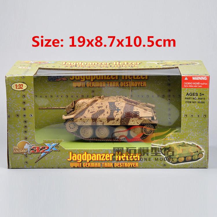New 1 32 Jagdpanzer Hetzer World War II GERMAN Tank Destroyer Model Xmas Gift