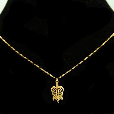 Collier pendentif Acier inoxydable réglable coeur Colac047-doré