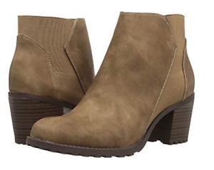 NIB Women's Aerosoles  Inclination Suede Chelsea Boots,Mushroom,Sz 8