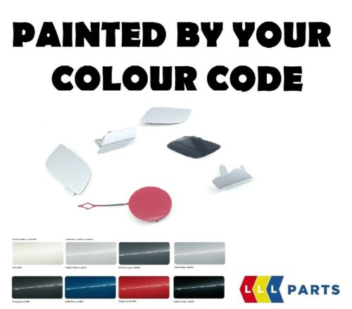 BMW NEW X3 G01 REAR TOW HOOK EYE TOWING COVER CAP PAINTED BY YOUR COLOUR CODE