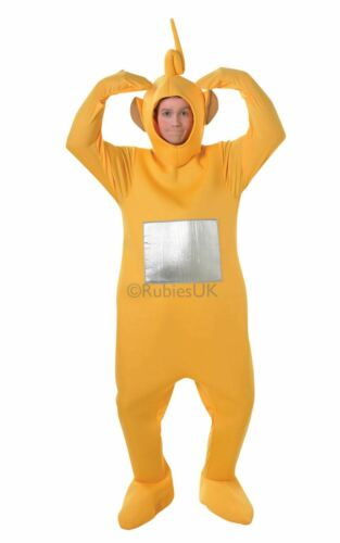 Adult Laa Laa Teletubbies Licensed Kids TV Fancy Dress Costume Party Outfit