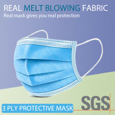 General Daily Protective Face Mask Anti Bacterial Filter 3 Layer