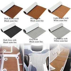 Deluxe Eva Foam Boat Marine Flooring Mat Faux Teak Decking