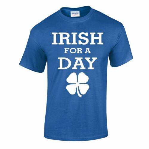 Patrick Day ST Irish Day Funny Slogan Top Inspired Gift T Shirt Parody Paddy TEE