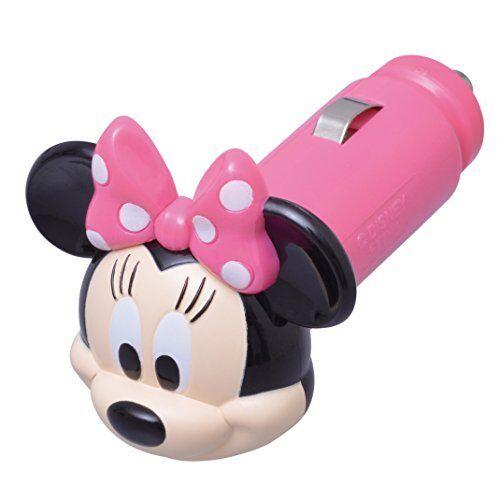 SEIWA Disney USB socket Minnie White LED Japan