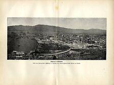 Smyrna in Kleinasien (Izmir) nach einem Photo d. Graf von Moltke Kunstdruck 1900