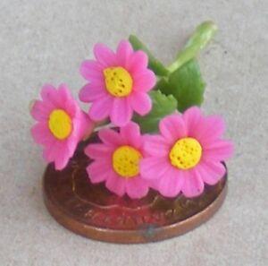 Échelle 1:12 Bouquet De Rose & Marguerites Jaunes Tumdee Maison De Poupées Fleur Jardin D5-afficher Le Titre D'origine Excellent Effet De Coussin