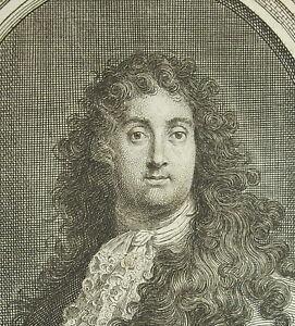 Charles-Simonneau-Cartoonist-and-Writer-Francais-c1720-Engraving-Orleans-Rigaud