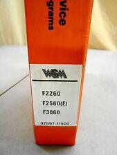 KUBOTA F2260  F2560 (E)  F3060 TRACTOR WORKSHOP SERVICE MANUAL &FLAT RATE 4/96