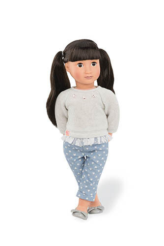 Our Generation Lee - May Lee Generation Puppe 46 cm Asiatin f94d4c