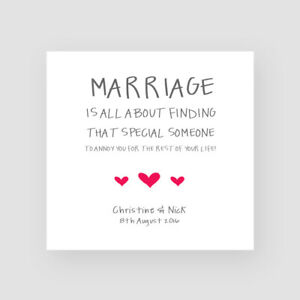 Funny Wedding Cards.Details About Personalised Handmade Funny Wedding Day Card For Them Marriage Husband Wife