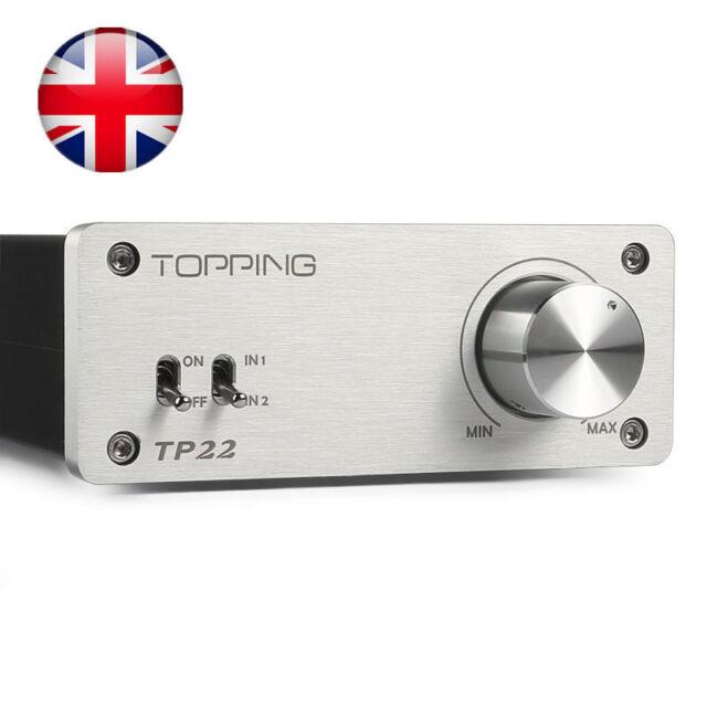 Despunte Reino Unido TP-22 Tripath TK2050 Clase T 2*30W Hi-Fi Estéreo Mini Amplificador De Potencia