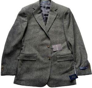 Tweed-Jacket-polo-By-Ralph-Lauren-chaqueta-Bradford-cachemira-gris-senores-intemporal