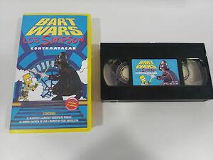 LOS-SIMPSON-CONTRAATACAN-BART-WARS-VHS-COLECCIONISTA-EDICION-ESPANOLA