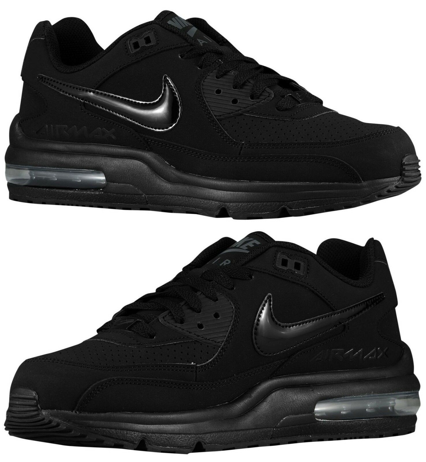 NIKE AIR MAX WRIGHT Homme SUEDE M RUNNING Noir - ANTHRACITE NEW IN BOX Taille