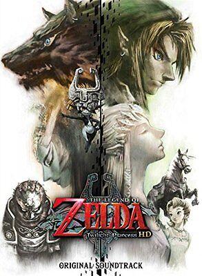 The Legend Of Zelda Twilight Princess Hd Original Soundtrack Legend Of Zelda Cd Ebay