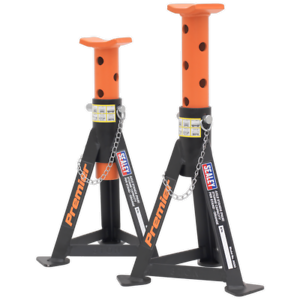 Sealey-AS3O-Axle-Stands-Pair-3tonne-Capacity-per-Stand-Orange