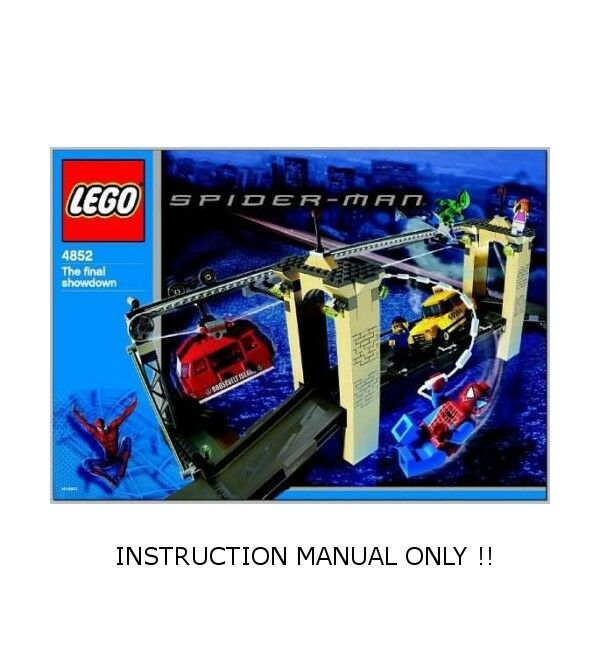 (Instructions) for LEGO Set 4852 - The The The Final Showdown - INSTRUCTION MANUAL ONLY e69813