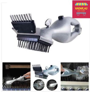 Pinyu Grill Daddy Original Steam Cleaning Barbeque Grill Brush for Charcoal,Cleaner with Steam Or Gas Accessories Cooking Tools Color : White