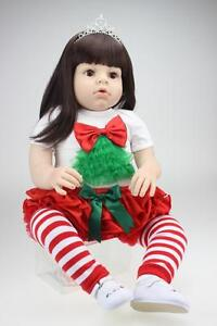 2019-Reborn-Baby-Girl-dolls-Handmade-Vinyl-Silicone-Lifelike-Dolls-kid-Gift-28-039-039