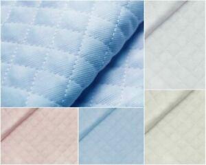 Tessuto piquet trapuntato doppio a rombi di mm.15 vendita riferita a cm. 50x150