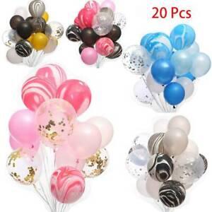 20Pcs-Confetti-Latex-Balloons-Wedding-Birthday-Party-Decoration-12-034-Pink-Purple