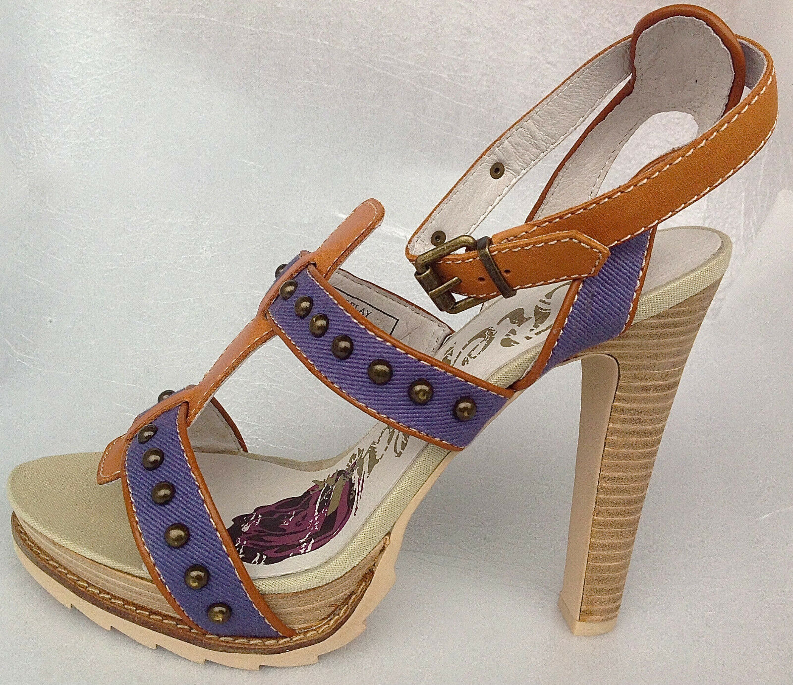 Replay ADELINE RP420002T Damen Sandale Sandaleetten Sandales EU 39, 40, UK 4 - 7