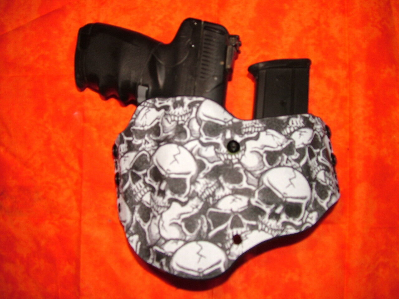 LOOK   LOOK SUPER NICE GRAVEYARD NIGHT KYDEX HOLSTER W/BUILT IN MAG TRULY HAND FITTED da49ad