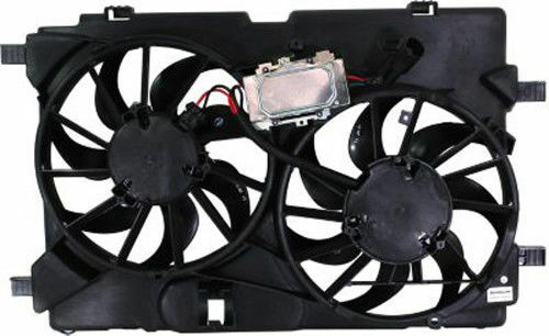 NEW RADIATOR FAN ASSEMBLY 3.5L V6 FOR 10-12 FORD FUSION LINCOLN MKZ MI FO3115181