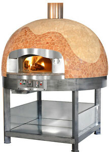 Italian gas wood fired pizza oven available in 3 for Forni ambrogi