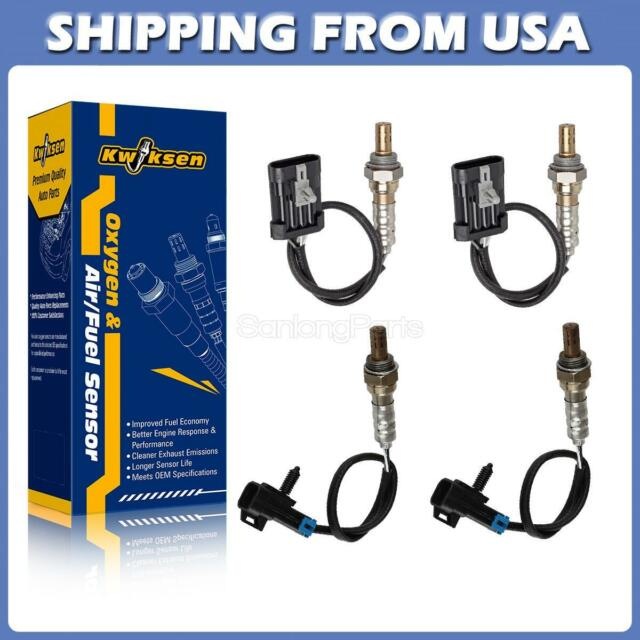 4x Oxygen O2 Sensor Front+Rear For 96-00 Chevrolet Tahoe 5.7L Trans Code 4L60E