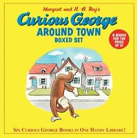 Curious George Around Town (6 Volume Set) By H. A. Rey, (paperback), Hmh Books F on sale