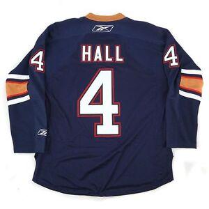 41812184574 TAYLOR HALL Reebok Edmonton Oilers 3rd Alternate Navy Premier Jersey ...