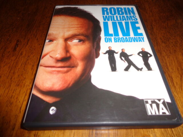 Robin Williams - Live On Broadway (DVD, 2002) | eBay