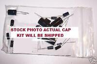 Galaga Cpu Board Cap Kit Caps For Orginal Board