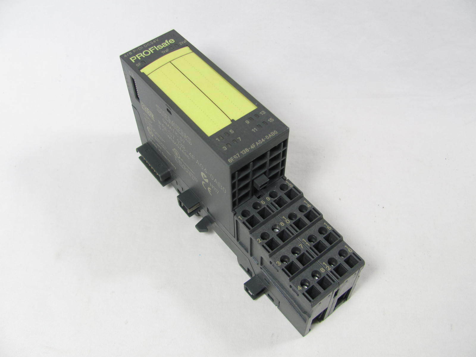 Siemens, Simatic S7, Digital Input, 6ES7138-4FA04-0AB0, 6ES7 138, with Base