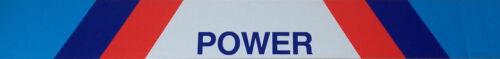 M Power Aufkleber Blendstreifen M Power 125 x 15 cm