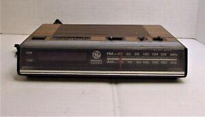 Vintage-Clock-Radio-General-Electric-Model-7-4624B-GE-AM-FM-Digital-Alarm