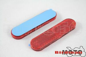 2X-Plastic-Reflective-Sticker-Reflector-Sticker-For-ATV-Car-Dirt-Bike-Universal