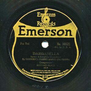 SANFORD's Famous Dance Orchestra on 1920 Emerson 10121 - Dardanella