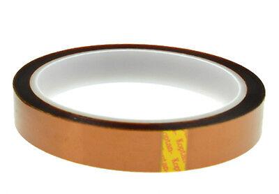"""2PK High Temp Polyimide Kapton Powder Coating Electrical Masking Tape 1/"""" x 36yd"""