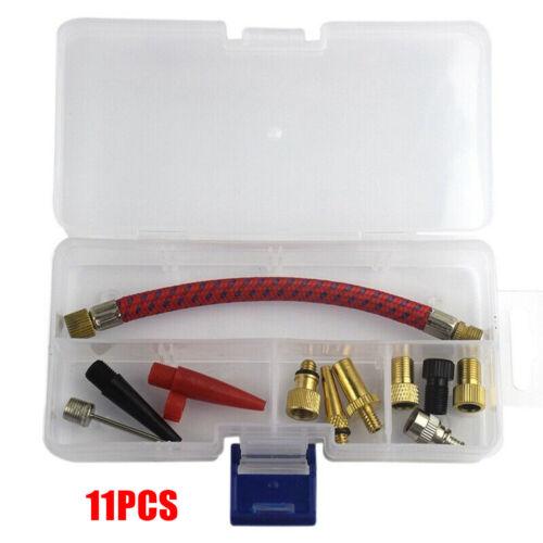 Adapter Nadeln Luftmatratze Pumpe Schlauch Düse Aufblasen Praktisch Brandneu