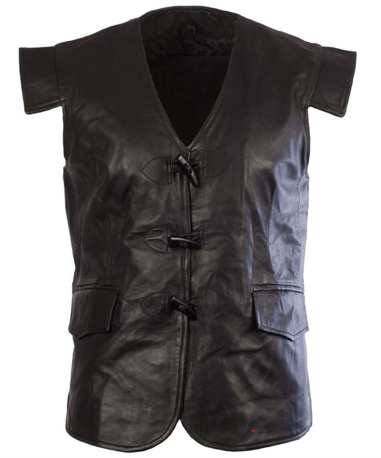 Leather Scotland Waistcoat In In Jacobean Style Size Medium